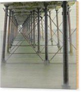 Saltburn Pier Wood Print