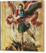 St. Michael Wood Print