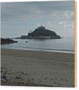 St Michael's Mount Cornwall Wood Print