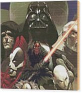 Star Wars For Poster Wood Print