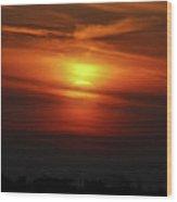 7- Sunset Wood Print
