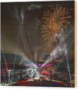 The Grateful Dead At Soldier Field Fare Thee Well Tour Wood Print