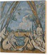 The Large Bathers Wood Print