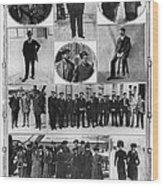 Titanic: Survivors, 1912 Wood Print
