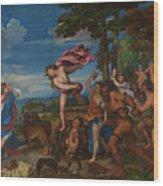 Titian Wood Print