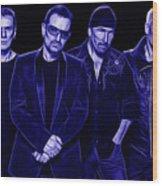 U2 Collection Wood Print