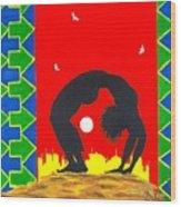 Uhuru Series Wood Print