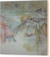 Van Gogh In Chinese Style Album Wood Print