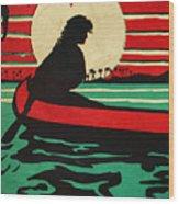Vintage Hawaiian Art Wood Print