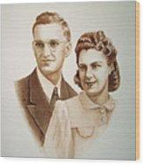 70 Years Together Wood Print