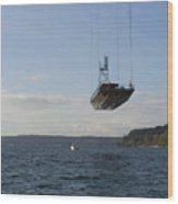 The New Tacoma Narrows Bridge Wood Print