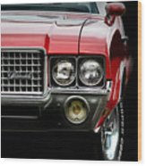 72 Olds Cutlass Wood Print