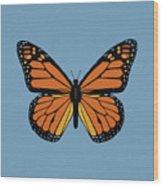 74- Monarch Butterfly Wood Print