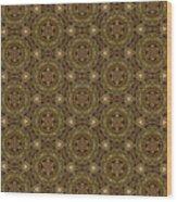 Arabesque 001 Wood Print