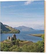 76. Eilean Donan Castle, Scotland Wood Print