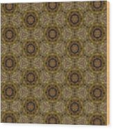 Arabesque 037 Wood Print