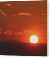 Sunsets Wood Print