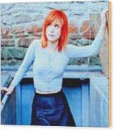 79361 Hayley Williams Paramore Women Singer Redhead Wood Print