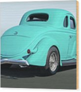 1936 Ford Coupe Wood Print
