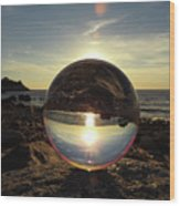 8-25-16--5717 Don't Drop The Crystal Ball, Crystal Ball Photography Wood Print