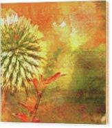 American Beach Cottage Art And Feelings Wood Print