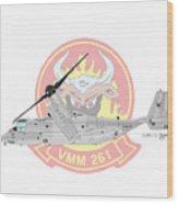 Bell Boeing Mv-22b Osprey Wood Print