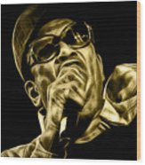 Bobby Womack Collection Wood Print