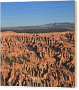 Bryce Canyon Amphitheater Wood Print
