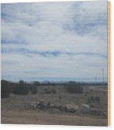 Concho Landscape Wood Print