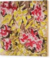Divine Flower Wood Print