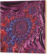 Fractal, Pattern, Kaleidoscope, Art Wood Print