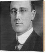 Franklin Delano Roosevelt Wood Print