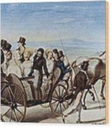 Franz Schubert (1797-1828) Wood Print