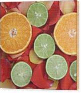 Fruit Wood Print