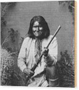 Geronimo (1829-1909) Wood Print