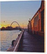 Glasgow, Scotland Wood Print