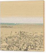 Gordon Beach, Tel Aviv, Israel Wood Print