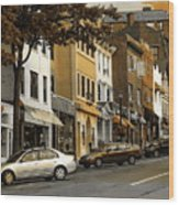 Greenwich Avenue Wood Print