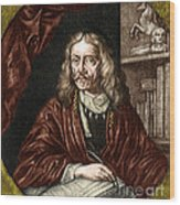 Johannes Hevelius, Polish Astronomer Wood Print