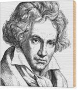 Ludwig Van Beethoven Wood Print