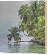 Moorea Tahiti Wood Print