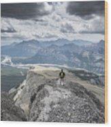 Mount Black Rock Wood Print