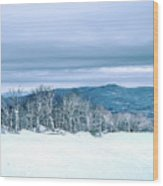 North Carolina Sugar Mountain Skiing Resort Destination Wood Print