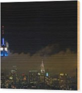 Nyc Buildings Wood Print