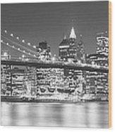 Nyc, New York City, New York State, Usa Wood Print