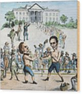 Presidential Campaign, 1860 Wood Print