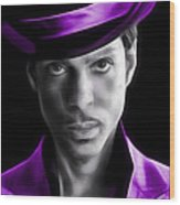 Prince Tribute Wood Print