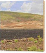 Rural Landscape In Ethiopia Wood Print