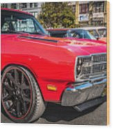 Sf Low Riders Wood Print