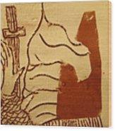 Sign - Tile Wood Print